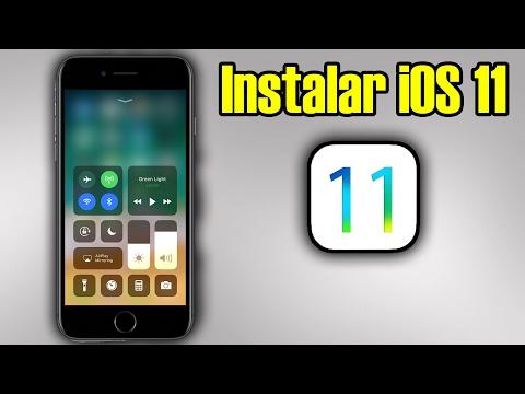 COMO INSTALAR iOS 11