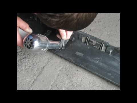 Ремонт порогов Volkswagen Passat B 3. Часть 1. Подготовка.