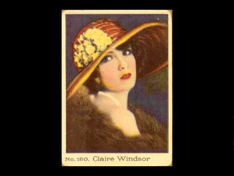 Claire Windsor as featured on tobacco trading cards
