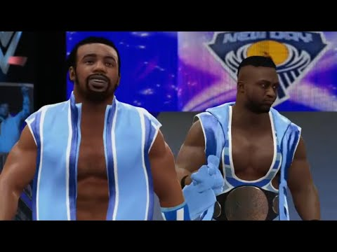 WWE 2K16 - The New Day Vs Dolph Ziggler (3 On 1 Handicap Match)