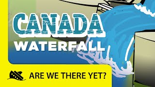 Download lagu Canada: Waterfall - Travel Kids in North America