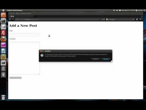 Ruby on Rails Tutorial Part 9 - Validation & Error Messages
