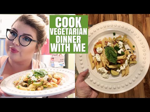 HANG OUT WITH ME WHILE I COOK part 4 | Vegetarian Dinner