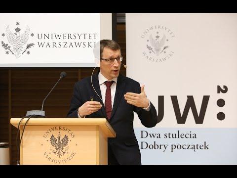 """Prof.  Krzysztof Meissner """"Przyszłość Wszechświata"""""""