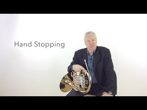"""French Horn: Setting the record straight on Stopped Notes. - Tutorial Nr.3 Frank Lloyd """"No Limits"""""""