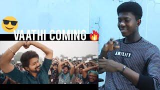 Master-Vaathi Coming Video|Thalapathy Vijay|Anirudh Ravichander|Lokesh Kanagaraj|Foreigner Reacts