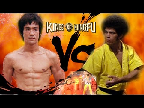 Bruce Lee vs Jim Kelly Gameplay - Mac Gaming