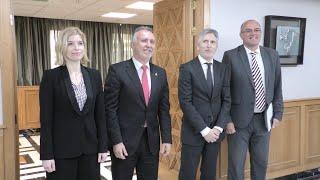 Marlaska se reúne con presidente del Gobierno canario