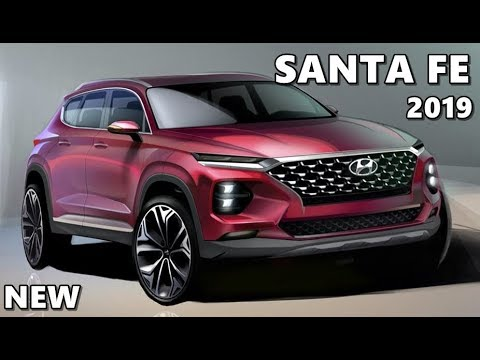 2019 hyundai santa fe early look youtube. Black Bedroom Furniture Sets. Home Design Ideas