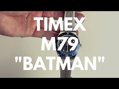 A Cheap But Cool 'Batman' Watch - The Timex M79 Automatic Reviewed