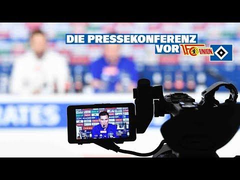 RELIVE: Die Pressekonferenz vor dem Spiel beim 1. FC Union Berlin