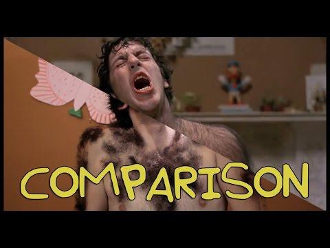 American Werewolf in London Transformation  Homemade w Max Landis! Comparison