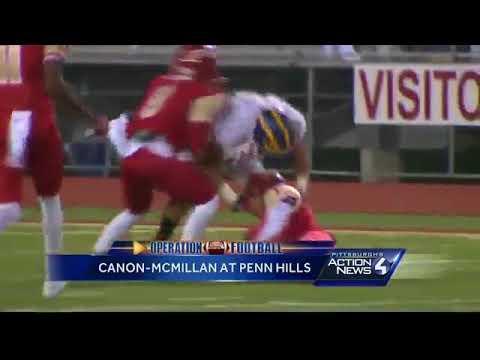 Operation Football: Canon-McMillan at Penn Hills highlights