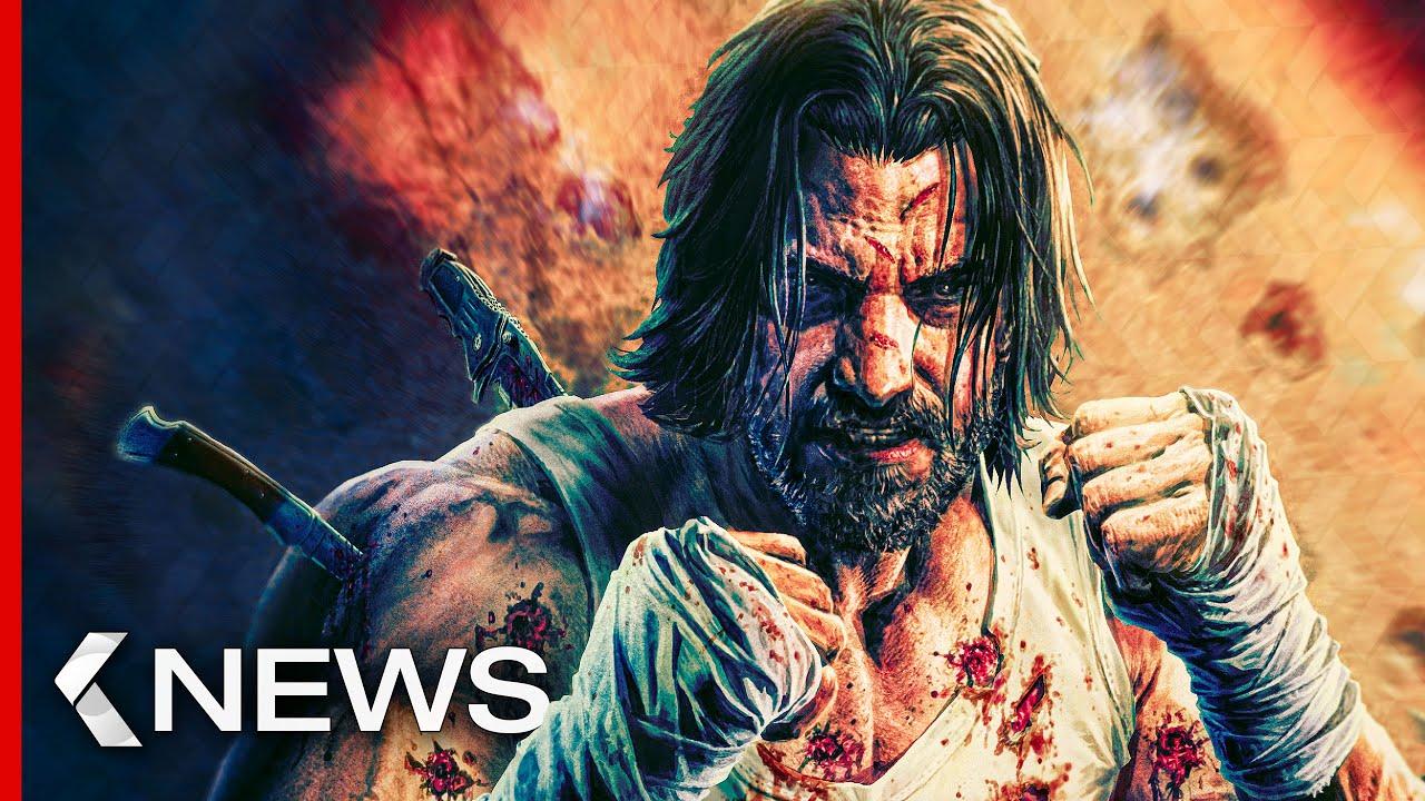 Download John Wick 4, Keanu Reeves' BRZRKR, Black Adam, The Flash... KinoCheck News