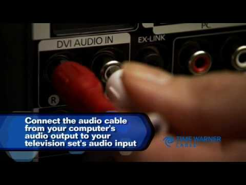 Time Warner Cable - PC to TV How to