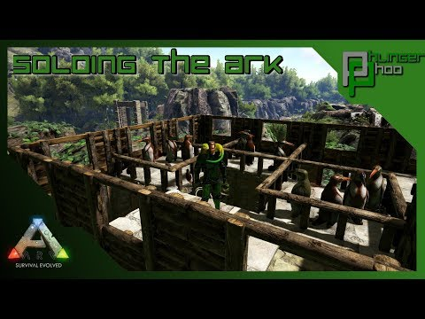 Soloing the Ark S4E68 - ORGANIC POLYMER FARM - MOSCHOPS TAME!