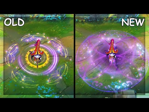 All Lulu Skins OLD and NEW Visual Effects VFX Update 2019 (League of Legends)