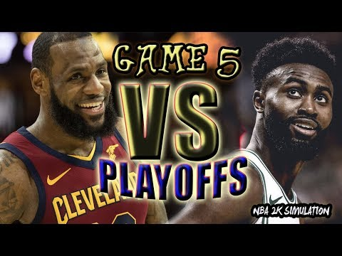 Cleveland Cavaliers vs Boston Celtics - FULL GAME | Game 5 | May 23 | FINALS CONFERENCE | NBA 2K18