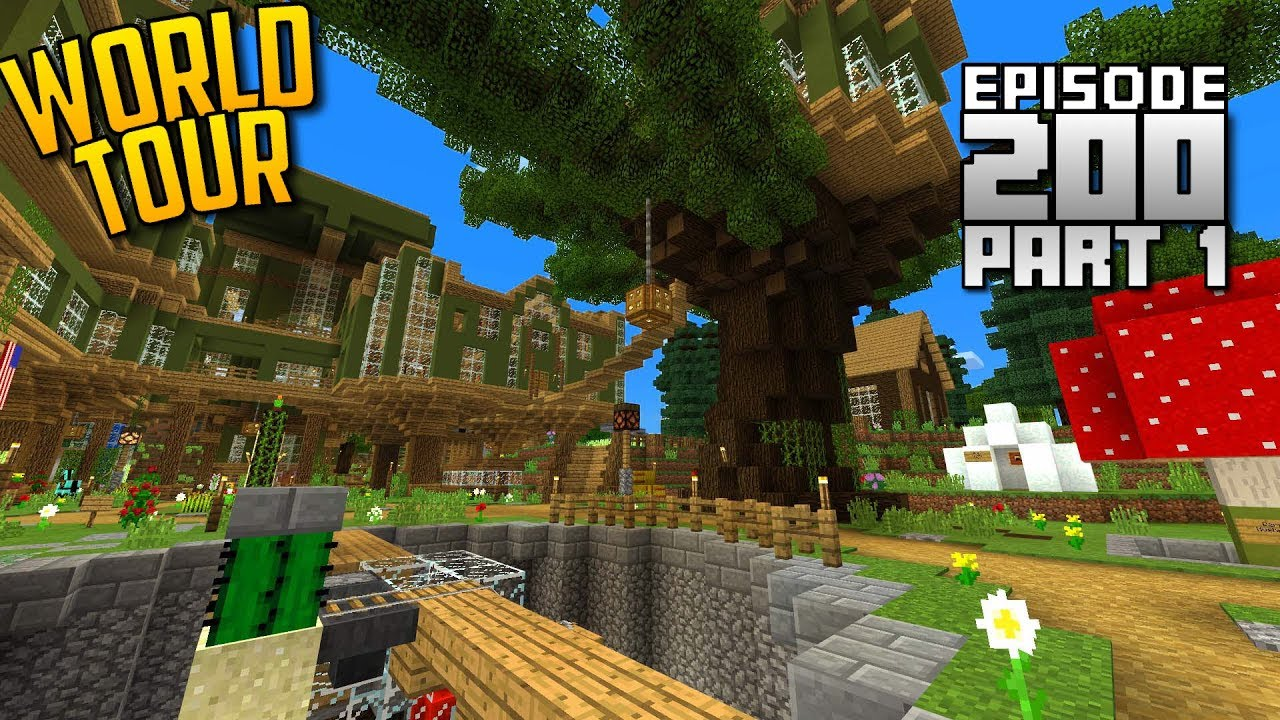 Lets Play Minecraft Pe Ep200 World Tour Download Part 1