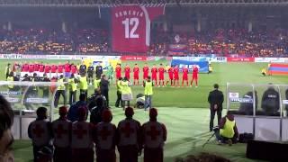 armenia czech republic 0 3 26 03 2013 national anthems hd