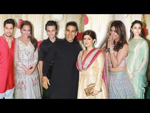Ekta Kapoor's Diwali Party 2017 Full HD Video | Alia Bhatt, Akshay Kumar, Sidharth, Sonakshi