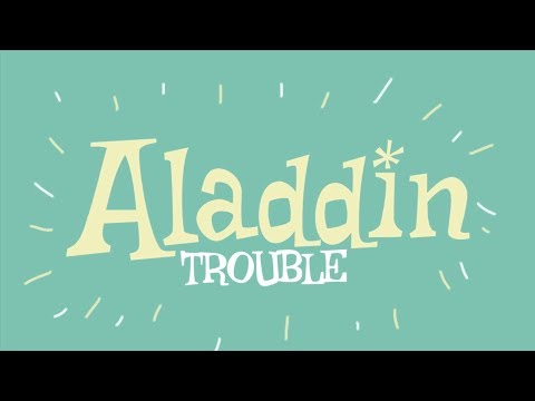 'Aladdin Trouble' by Mark and Helen Johnson - Available NOW!