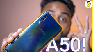 Samsung Galaxy A50 [Indian unit]: Unboxing, Hands-on review, and camera samples