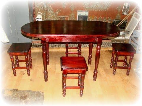 Изготавливаем стол
