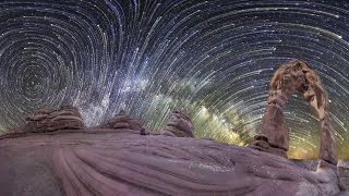 Planetary Panoramas - 360 Degree Night-Sky Time-Lapse by Vincent Brady, Music by Brandon McCoy