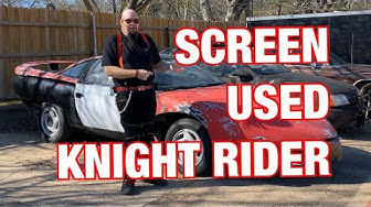 Abandoned Movie Car for 10 years, will it start? Screen Used Knight Rider 2000 car!