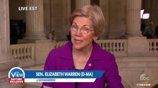 Sen. Elizabeth Warren on Being Silenced in Senate for Criticism Of Sen. Sessions | The View
