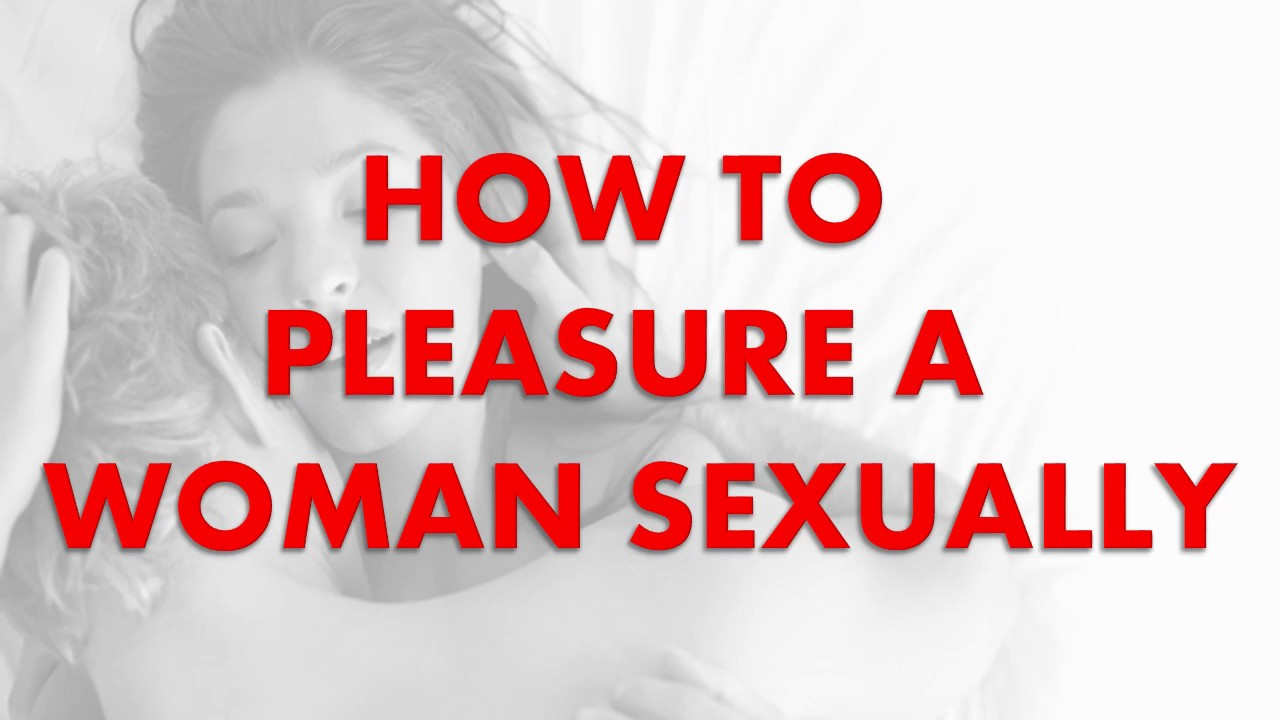 Sexually satisfying a woman in bed