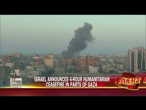 Palestinians claim UN school hit, while Israel announces 4-hour cease-fire for parts of Gaza