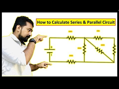 Any Series & Parallel Circuit Calculation | Series & Parallel Circuits | Solve Problem | Part-1