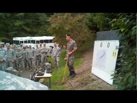 German Armed Forces Badge- Briefing for 12k Road March