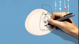 Детские футажи  Заставка с днем рождения  Видео открытка
