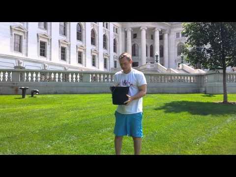 Adam Neylon Takes ALS Ice Bucket Challenge Then Challenges Jim Sensenbrenner