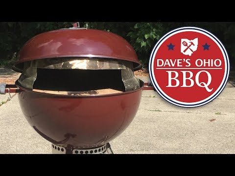 How to Build a Wood Fired Oven - Weber Kettle Pizza Oven