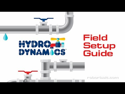 FIRST LEGO League 2017/2018 HYDRO DYNAMICS Field Setup guide