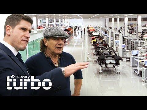 El fascinante centro de tecnologa de McLaren | Autos alucinantes con Brian Johnson |Discovery Turbo
