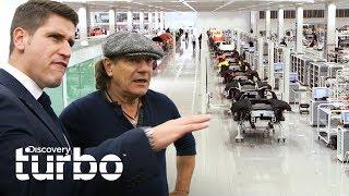 El fascinante centro de tecnología de McLaren | Autos alucinantes con Brian Johnson |Discovery Turbo