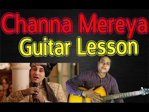 Channa Mereya Easy Guitar Chords Lesson   VGuitarLearning   Tutorial