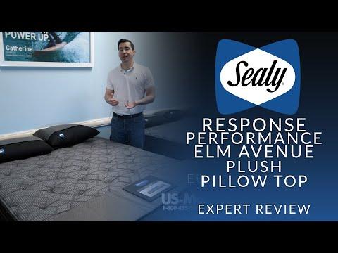 Sealy Response Performance Elm Avenue Plush Euro Pillow Top Mattress Expert Review