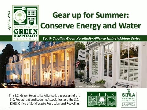 Gear up for Summer: Conserve Energy and Water