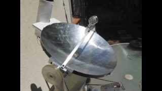 Parabole motorisée avec Stirling