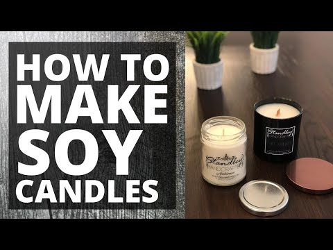 DIY How To Make Soy Candles With GB 464