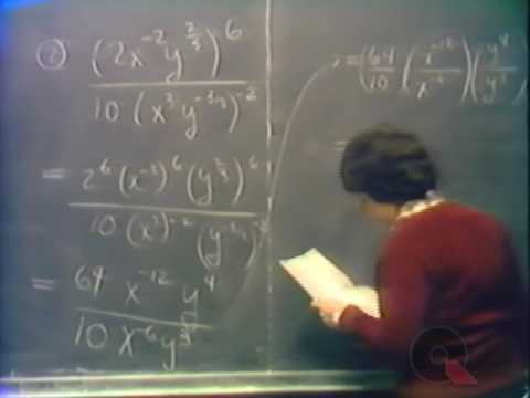 Pre-Calculus #60:  Review of Videos 15-17:  Rational Exponents and Radicals