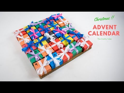 Advent Calendar - Christmas advent calendar - Christmas DIY - Paper Craft - DIY