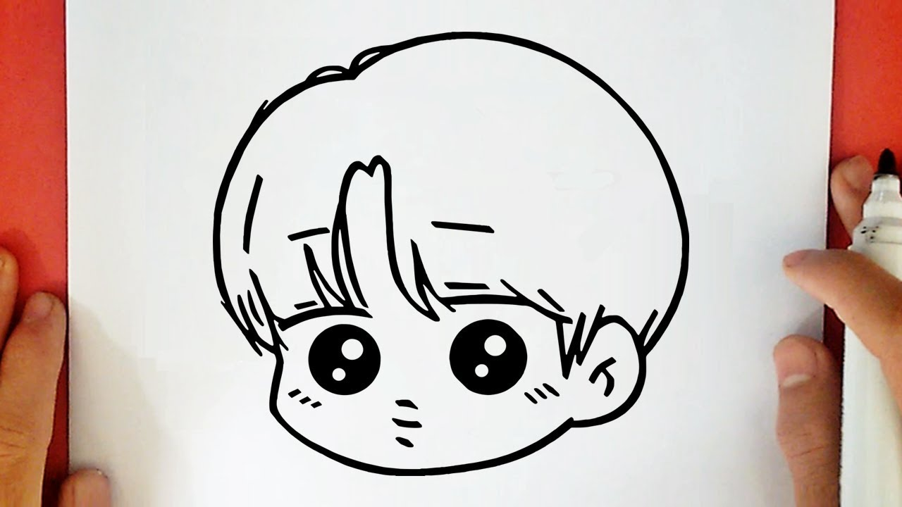 Come Disegnare Jimin Di Bts Kawaii Youtube