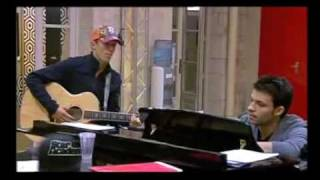 Jason Mraz at the Star Academy in France PART 1